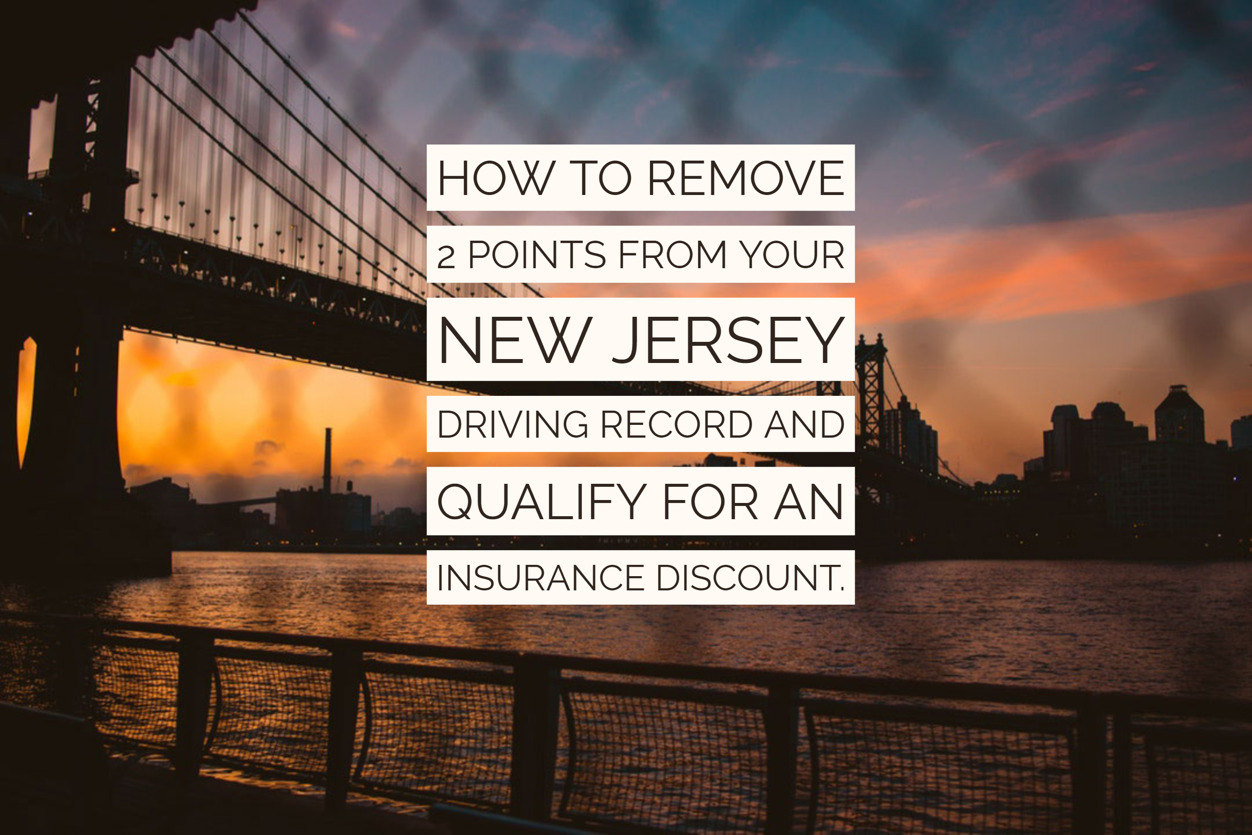 drivers license points check nj